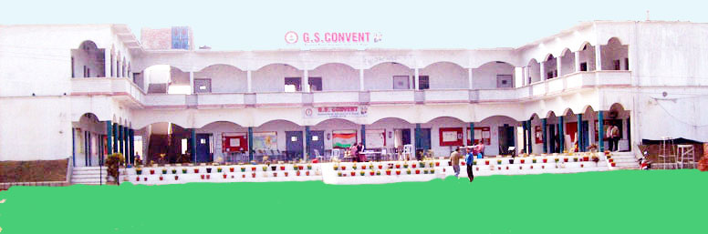 Main Building of G S Convent School Sitarganj best school in sitarganj uttarakhand India