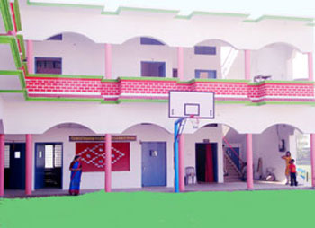 Left View of Main building of G S Convent School Sitarganj best school in sitarganj uttarakhand India