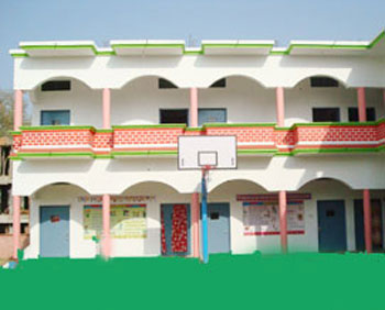 Right View of  Main building of G S Convent School Sitarganj best school in sitarganj uttarakhand India